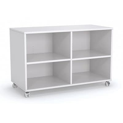 Axis Twin Mobile Bookshelf