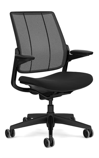 Humanscale Smart Mesh Chair with arms